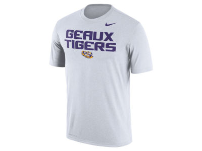 LSU Tigers Nike NCAA Men's Legend Authentic Local T-Shirt