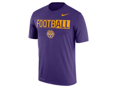 LSU Tigers Nike NCAA Men's Legend Football T-Shirt