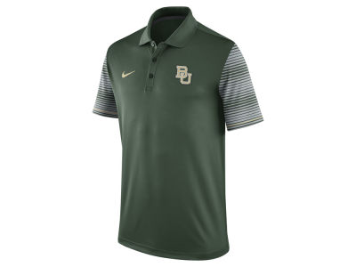 Baylor Bears Nike NCAA Men's Early Season Coach Polo Shirt