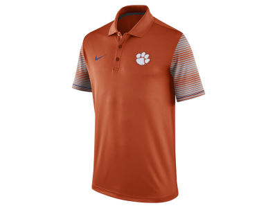 Clemson Tigers Nike NCAA Men's Early Season Coach Polo Shirt