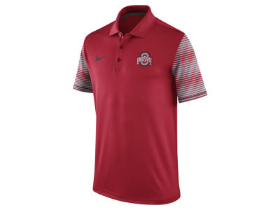 Ohio State Buckeyes Nike NCAA Men's Early Season Coach Polo Shirt