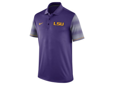 LSU Tigers Nike NCAA Men's Early Season Coach Polo Shirt
