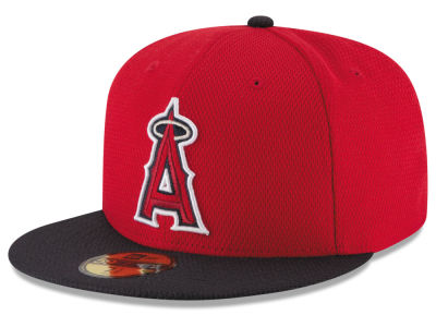 Los Angeles Angels New Era MLB 2016 Diamond Era 59FIFTY Training Cap
