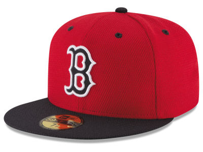 Boston Red Sox New Era MLB 2016 Diamond Era 59FIFTY Training Cap