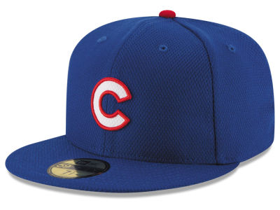 Chicago Cubs New Era MLB 2016 Diamond Era 59FIFTY Training Cap