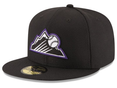 Colorado Rockies New Era MLB 2016 Diamond Era 59FIFTY Training Cap