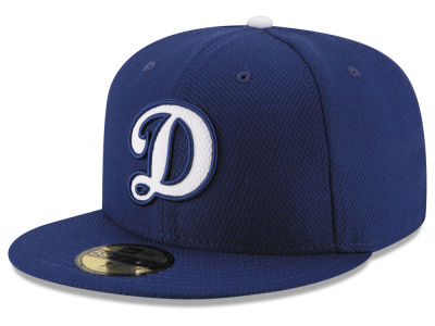 Los Angeles Dodgers New Era MLB 2016 Diamond Era 59FIFTY Training Cap