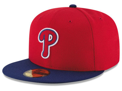 Philadelphia Phillies New Era MLB 2016 Diamond Era 59FIFTY Training Cap