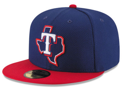 Texas Rangers New Era MLB 2016 Diamond Era 59FIFTY Training Cap