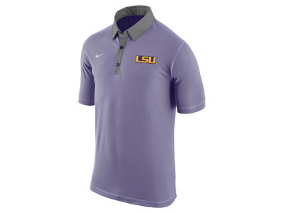 LSU Tigers Nike NCAA Men's Stadium Performance Polo Shirt