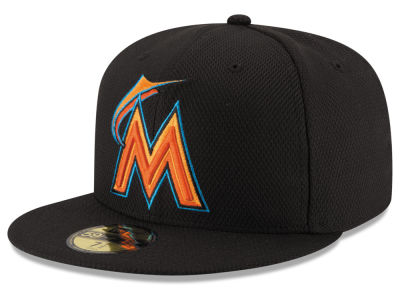 Miami Marlins New Era MLB Kids 2016 Diamond Era 59FIFTY Cap