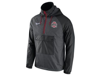 Ohio State Buckeyes Nike NCAA Men's Anorak PO Jacket