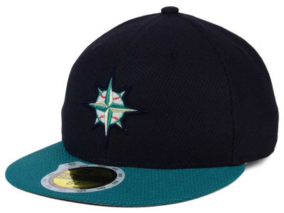 Seattle Mariners New Era MLB Kids 2016 Diamond Era 59FIFTY Cap
