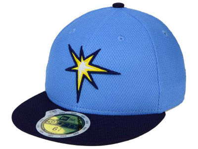 Tampa Bay Rays New Era MLB Kids 2016 Diamond Era 59FIFTY Cap