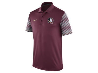 Florida State Seminoles Nike NCAA Men's Early Season Coach Polo Shirt