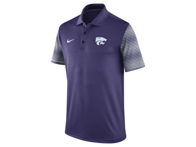 Kansas State Wildcats Nike NCAA Men's Early Season Coach Polo Shirt