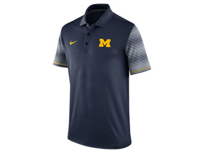 Michigan Wolverines Nike NCAA Men's Early Season Coach Polo Shirt