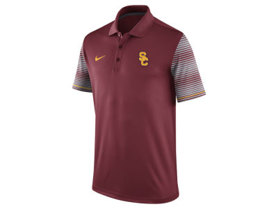 USC Trojans Nike NCAA Men's Early Season Coach Polo Shirt