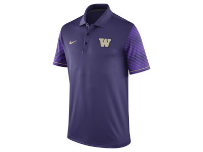 Washington Huskies Nike NCAA Men's Early Season Coach Polo Shirt