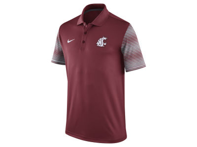 Washington State Cougars Nike NCAA Men's Early Season Coach Polo Shirt