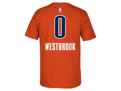 Oklahoma City Thunder Russell Westbrook adidas NBA Men's Player T-Shirt