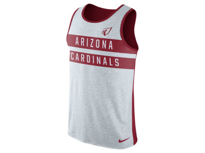Arizona Cardinals Nike NFL Mens Stripe Tri Tank