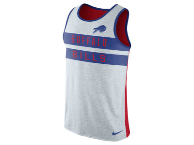 Buffalo Bills Nike NFL Mens Stripe Tri Tank