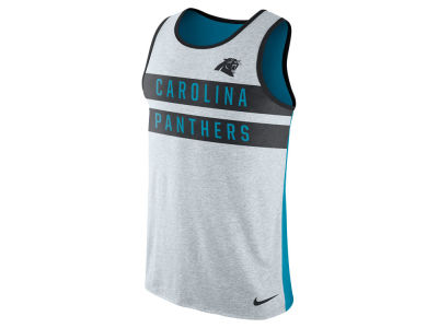Carolina Panthers Nike NFL Mens Stripe Tri Tank