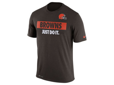 Cleveland Browns Nike NFL Men's Just Do It T-Shirt