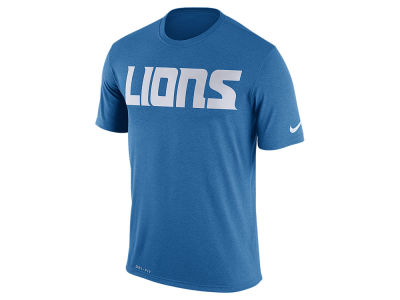 Detroit Lions Nike NFL Men's Legend Wordmark Essential 3 T-Shirt