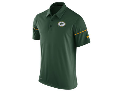 Green Bay Packers Nike NFL Mens Team Issue Polo Shirt