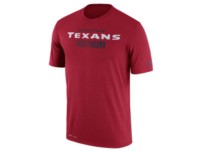 Houston Texans Nike NFL Men's All FootbALL Legend T-Shirt