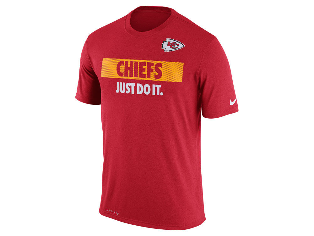 Nike Kansas City Chiefs Just Do It Men's NFL Tee Shirt