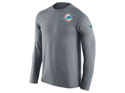 Miami Dolphins Nike NFL Mens Dri-Fit Touch Long Sleeve T-Shirt