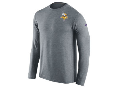 Minnesota Vikings Nike NFL Mens Dri-Fit Touch Long Sleeve T-Shirt