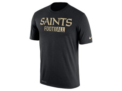 New Orleans Saints Nike NFL Men's All FootbALL Legend T-Shirt