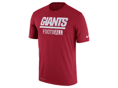New York Giants Nike NFL Men's All FootbALL Legend T-Shirt