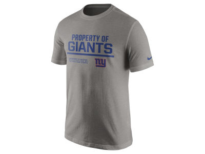 New York Giants Nike NFL Men's Property of T-Shirt
