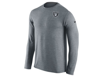 Oakland Raiders Nike NFL Mens Dri-Fit Touch Long Sleeve T-Shirt