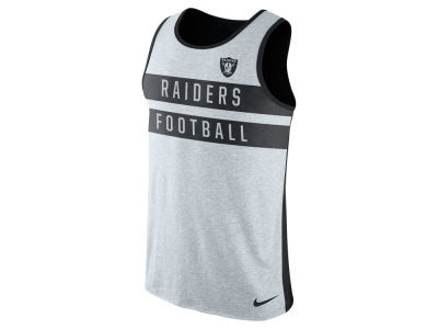 Oakland Raiders Nike NFL Mens Stripe Tri Tank