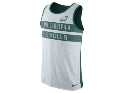 Philadelphia Eagles Nike NFL Mens Stripe Tri Tank