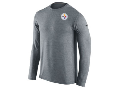 Pittsburgh Steelers Nike NFL Mens Dri-Fit Touch Long Sleeve T-Shirt