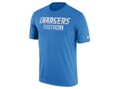 San Diego Chargers Nike NFL Men's All FootbALL Legend T-Shirt