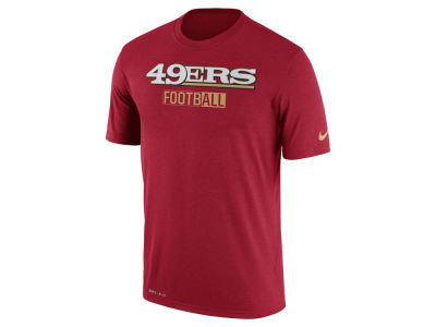 San Francisco 49ers Nike NFL Men's All FootbALL Legend T-Shirt