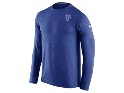 Los Angeles Rams Nike NFL Mens Dri-Fit Touch Long Sleeve T-Shirt