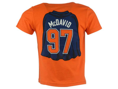 Edmonton Oilers Connor McDavid NHL CN Child Super Player T-Shirt