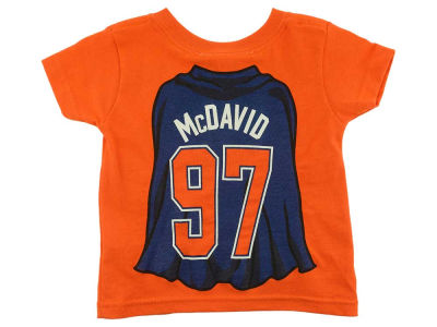 Edmonton Oilers Connor McDavid NHL CN Infant Super Player T-Shirt