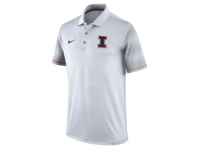 Illinois Fighting Illini Nike NCAA Men's Early Season Coach Polo Shirt