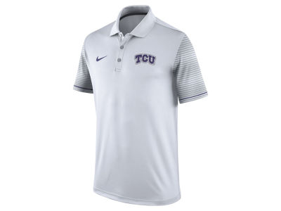 Texas Christian Horned Frogs Nike NCAA Men's Early Season Coach Polo Shirt