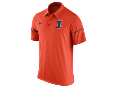 Illinois Fighting Illini Nike NCAA Men's Team Issue Polo Shirt